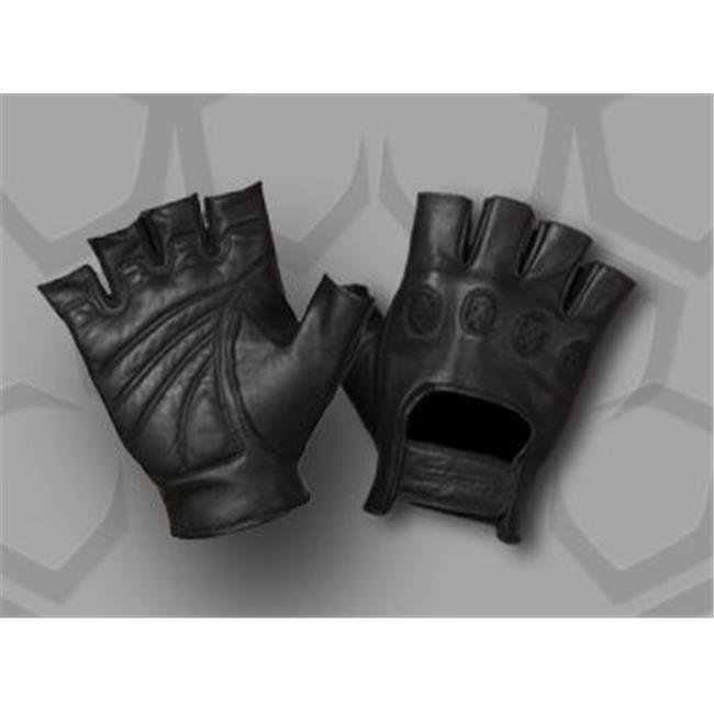 Strong Suit 20600-L Strong Suit On Tour Fingerless Motorcycle Gloves  Large