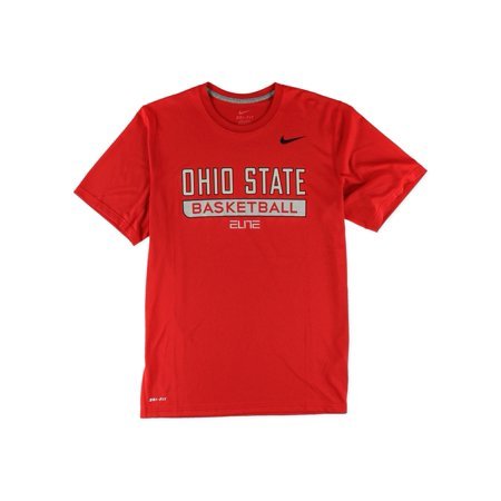 Nike mens ohio state basketball graphic t shirt for Ohio state shirts mens