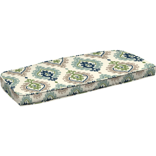 Better Homes and Gardens Wicker Settee Outdoor Cushion Ikat