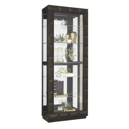 Tall Sliding Door Curio (Home Fare Sliding Front Curio )