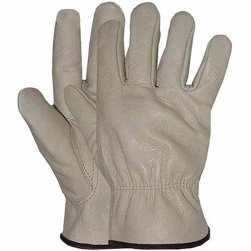 Boss Medium Men's Grain Leather Gloves