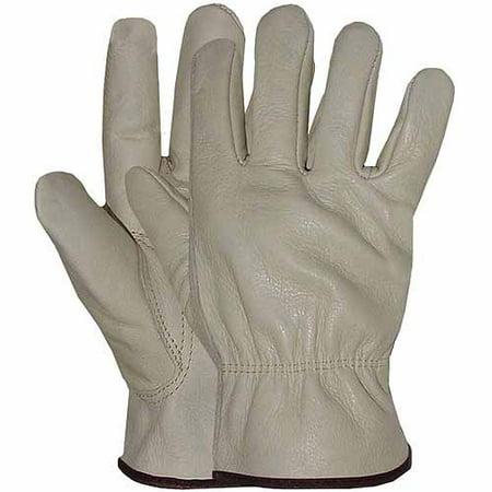 Medium Leather Glove - Boss Medium Men's Grain Leather Gloves