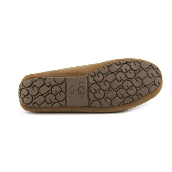 32f4c7dfe90 Ugg Australia Byron Men US 13 Brown Moccasin Slippers Shoes