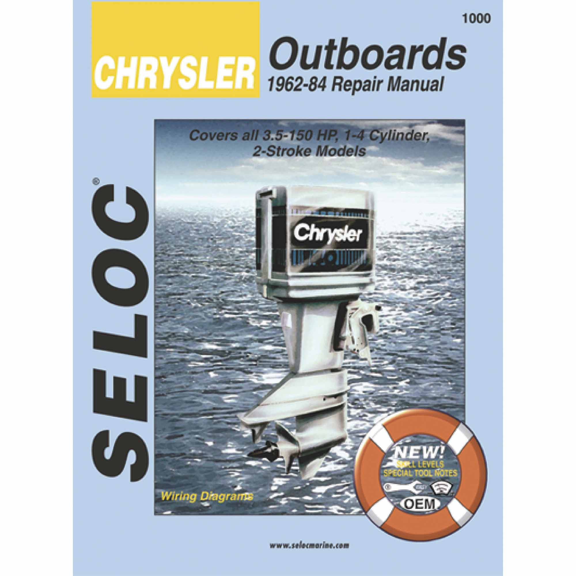 Seloc Marine Manual For Yamaha Outboards Chrysler Outboard Wiring