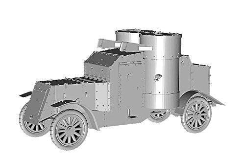 Master Box Models 1/72 British Armoured Car