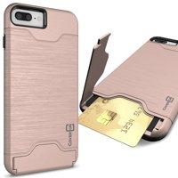 CoverON Apple iPhone 8 Plus / iPhone 7 Plus Case, Shadow Armor Series Hybrid Kickstand Phone Cover