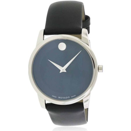 Movado Museum Leather Men's Watch, 0606502