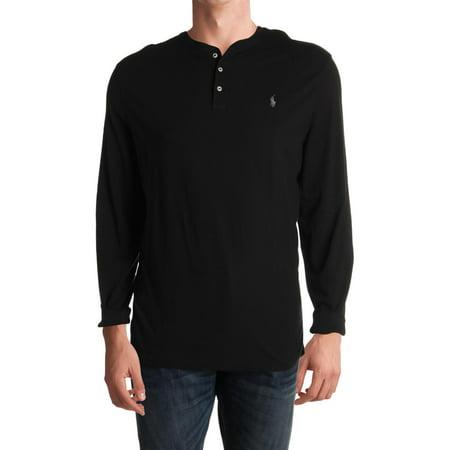 Polo Ralph Lauren Mens Cotton Logo Henley Shirt