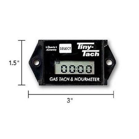 (2) Professional TINY TACH Hour Meter / Tachometer RC Helicopter Heli Plane Car by The ROP Shop