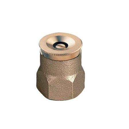Orbit Brass 90 Degree Quarter Spray Pattern Shrub & Plant Water Sprinkler, 54032