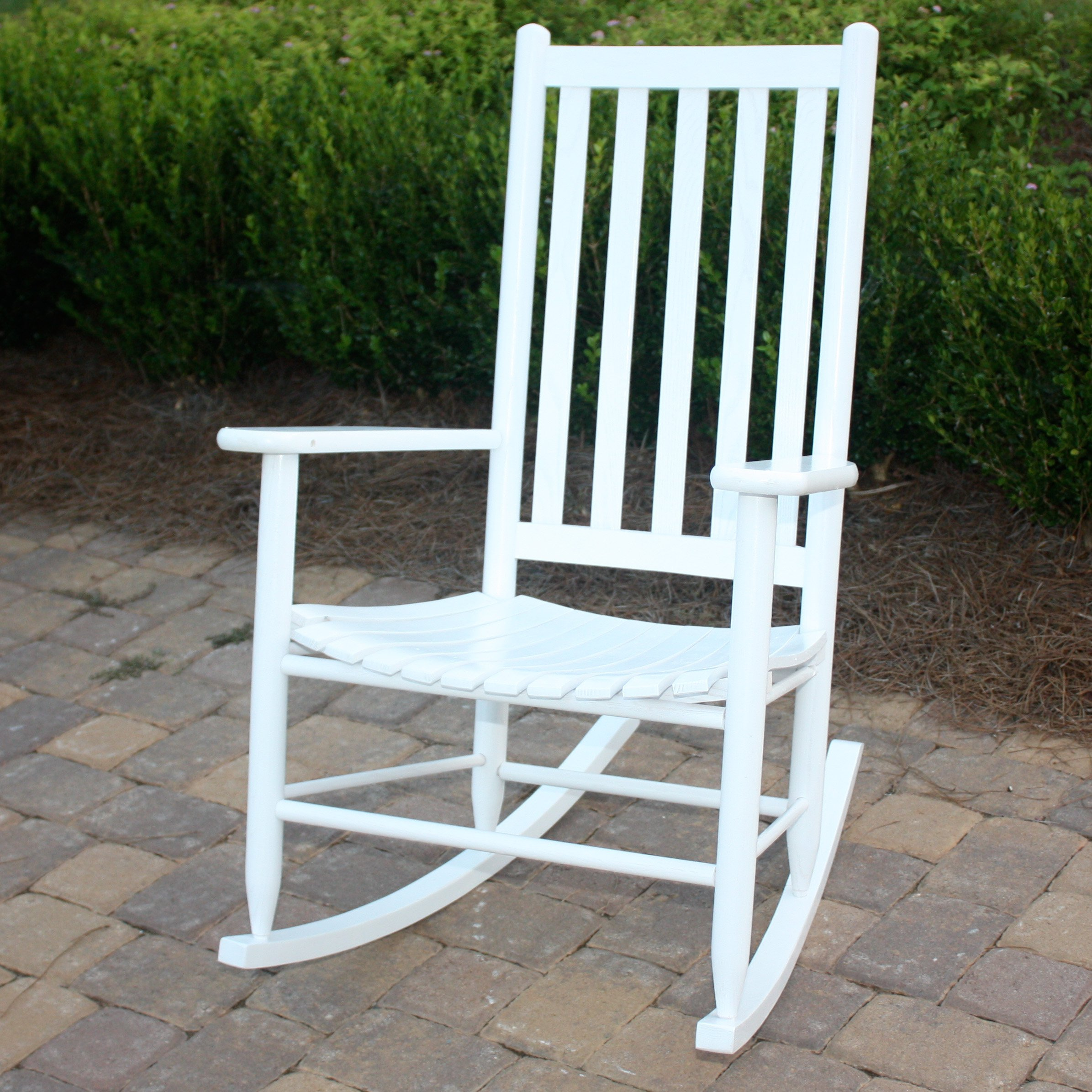 Dixie Seating Company Outdoor/Indoor Georgetown Slat Rocking Chair    Walmart.com