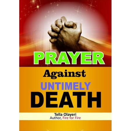 Prayer Against Untimely Death - eBook](Untimely Death)