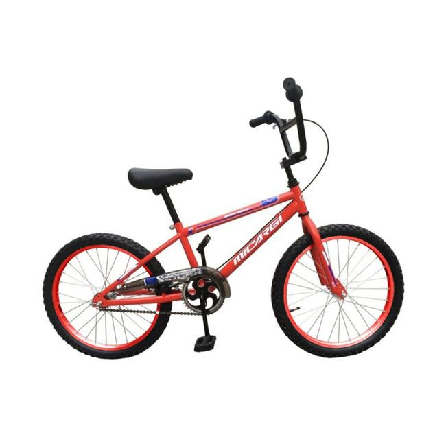 Micargi JAKSTER-B-20-RD 20 in. Boys BMX Bicycle, Red - 21 x 7 x 45 in.