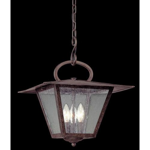 Alcott Hill Kearns 3-Light Outdoor Hanging Lantern
