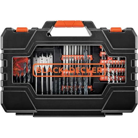 BLACK+DECKER 201-Piece Screwdriving And Drilling Project Kit, BDA90201 ()