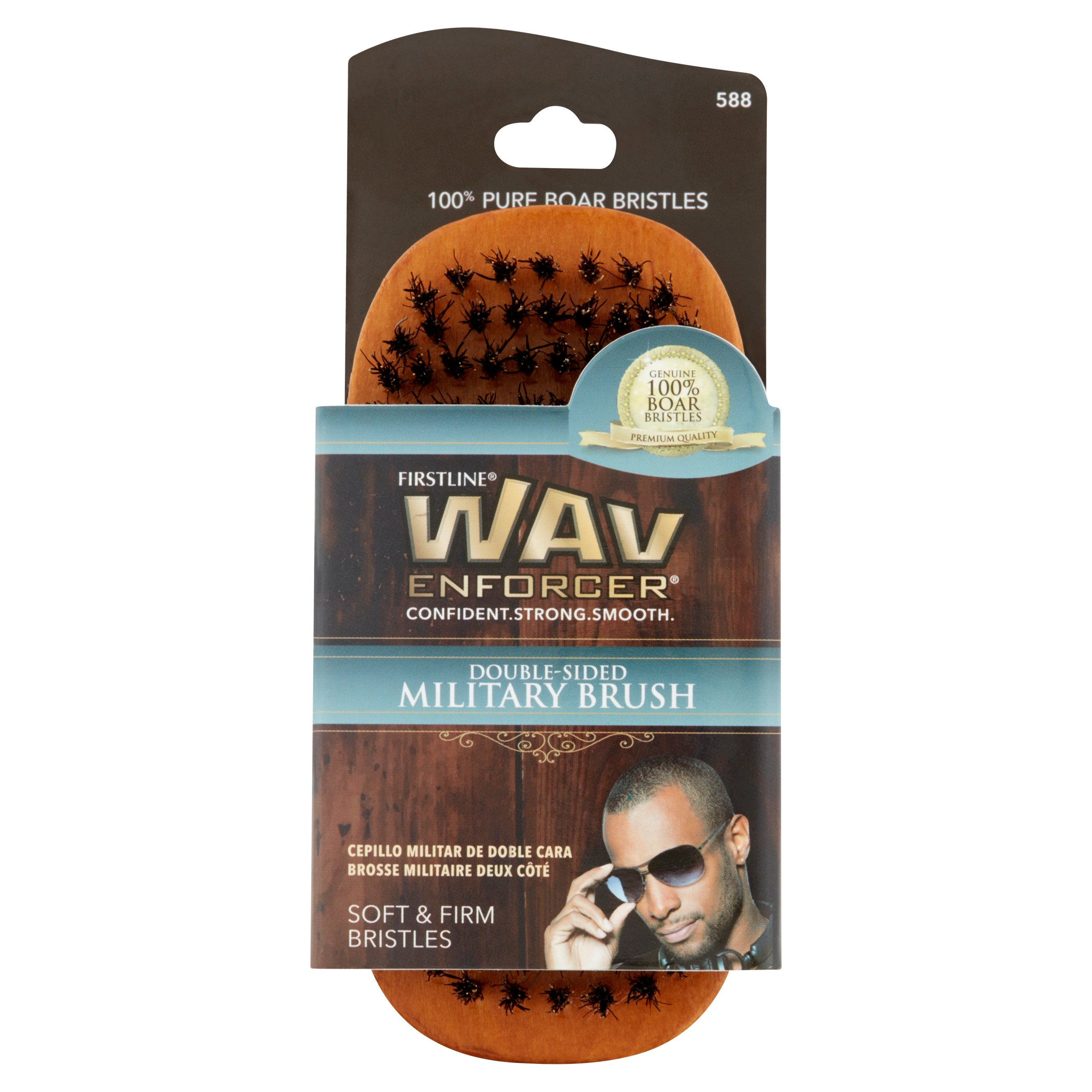 Wavenforcer Double Sided Military Brush