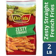 Ore-Ida Zesty Seasoned Straight Fries, 32 oz Bag