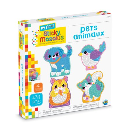 The Orb Factory My First Sticky Mosaics Pets Kit