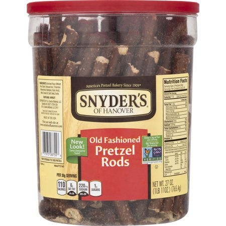 Snyder's Pretzel Rods, Old Fashioned, 27 Ounce