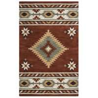 Rizzy Home Southwest SU1822 Rug - (8 Foot Round)
