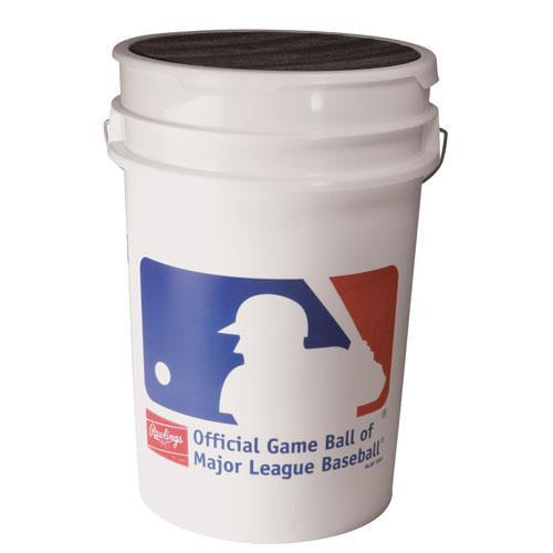 Rawlings Bucket of Training Baseballs - 3 Dozen