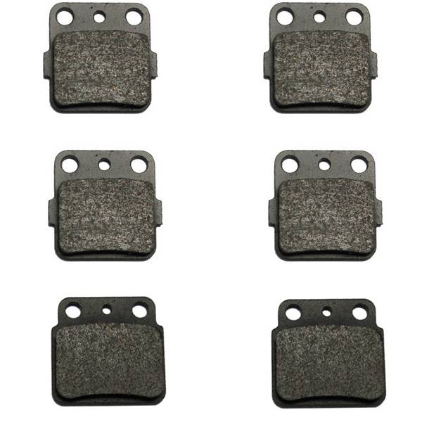 2003-2015 Suzuki QuadSport Z400 LTZ400 Kevlar Front & Rear Brake Pads by Volar Motorsport
