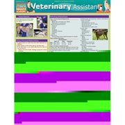 BarCharts 9781423216728 Veterinary Assistant Quickstudy Easel