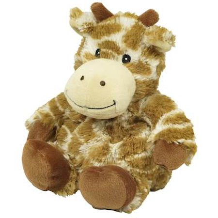 GIRAFFE JUNIOR WARMIES Cozy Plush Heatable Lavender Scented Stuffed Animal
