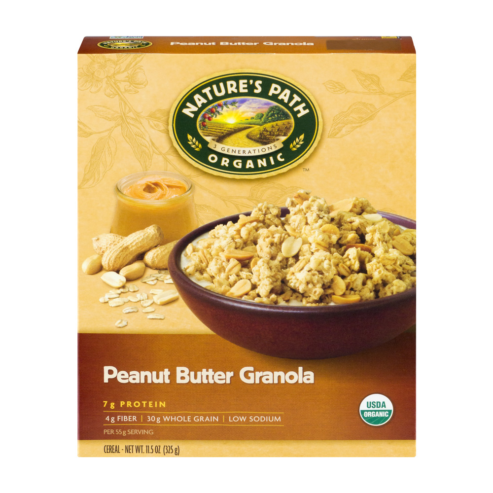 Nature's Path Organic Cereal Peanut Butter Granola, 11.5 OZ