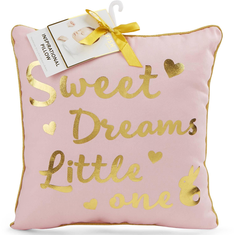 Bananafish Studio Decor Pillow, Girl by Generic