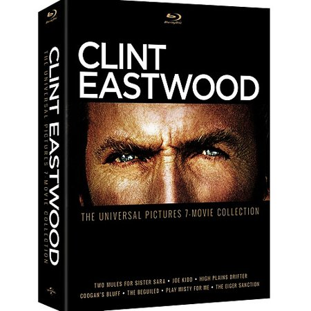 Clint Eastwood  The Universal Pictures 7 Movie Collection  Blu Ray   Widescreen