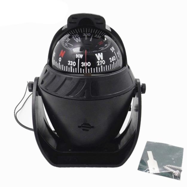 New Fashion LED Light Sea Marine Compass Electronic Digital Compass Boat Caravan Truck by