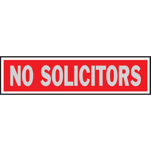 Hy-Ko No Solicitors Sign (Set of 10)