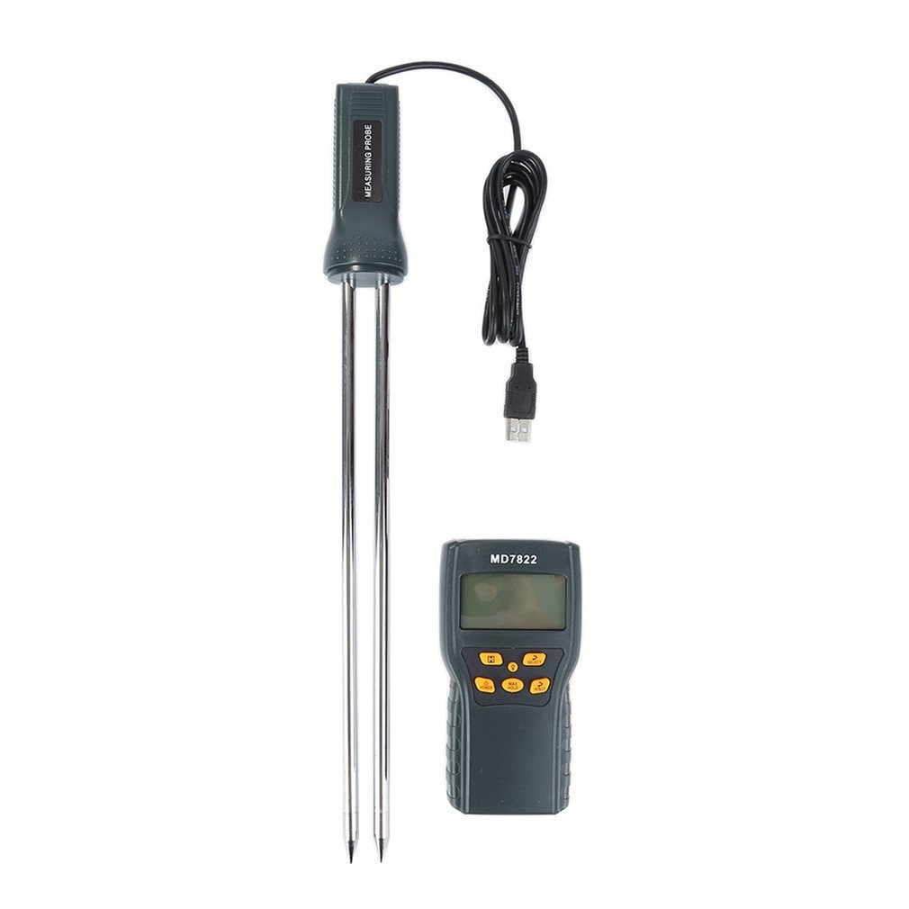 MD7822 Portable Handheld LCD Display Digital Grain Moisture Meter Humidity Tester Wheat... by