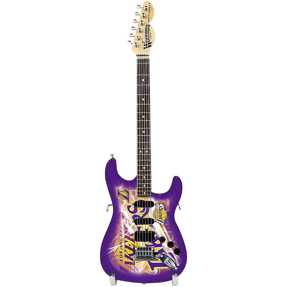 Woodrow Miniature Guitar, LA Lakers