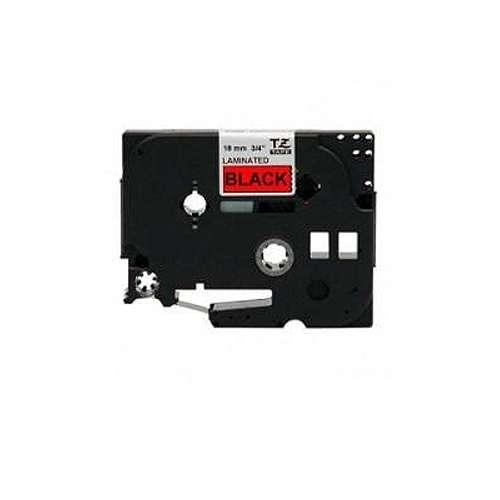 """Brother TZe-441 P-Touch 3/4"""" (0.7"""") Black on Red Tape (26.2 FT)"""
