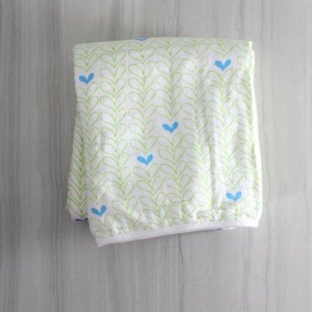 NEW Magnolia Organics Baby Blanket Sonas Hearts Lime B10 Baby Store Coyuchi Organic
