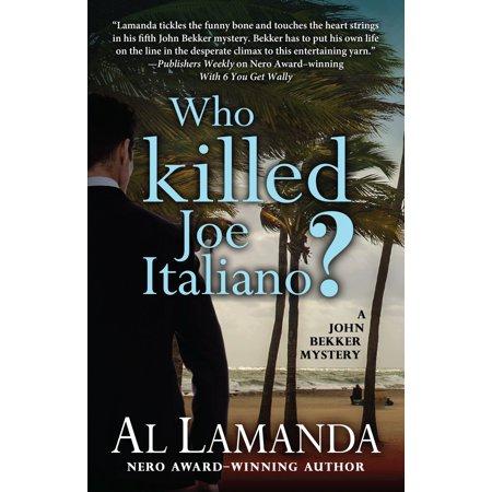 Who Killed Joe Italiano? - eBook](Menu Halloween Italiano)