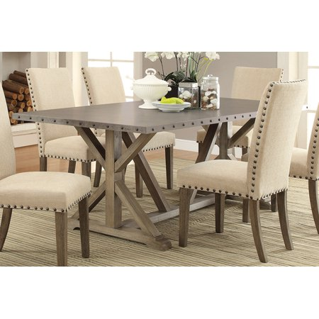 Coaster Company Webber Rustic Dining Table, Driftwood ()