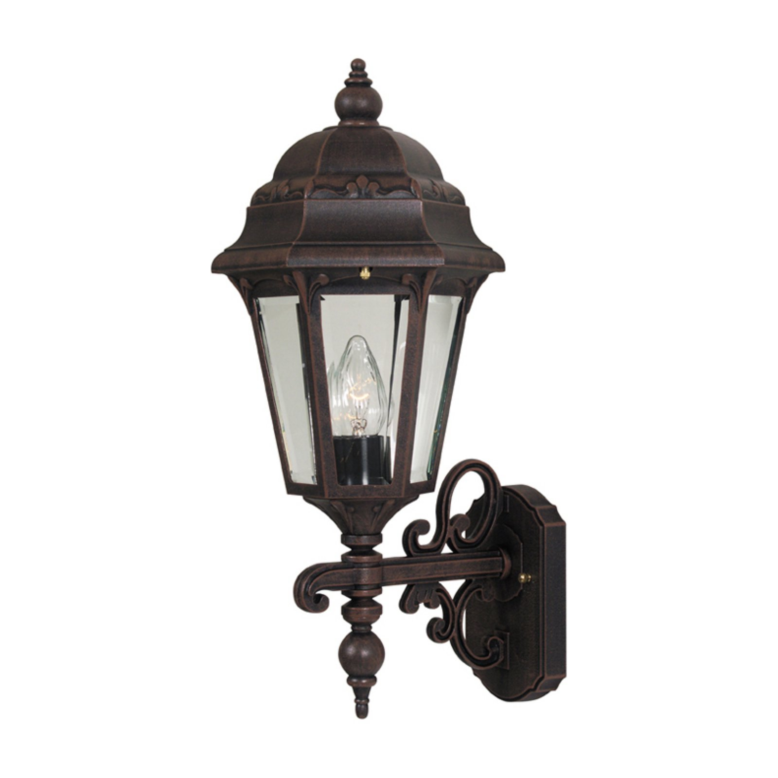 Special Lite Products Astor F-2967 Medium Bottom Mount Outdoor Wall Light