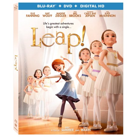 Leap   Blu Ray   Dvd  Digital Hd