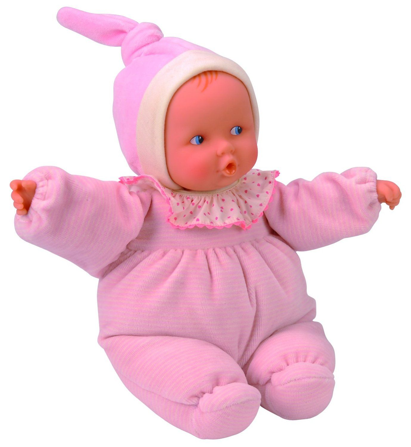 Babipouce Pink Striped 11 Inch - Play Doll by Corolle (CJC23)