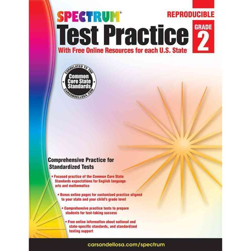Spectrum Test Practice, Grade 2: With Free Online Resources for Each U.S. State