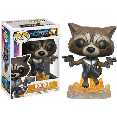 Funko Movies Guardians of the Galaxy 2 Flying Rocket Action