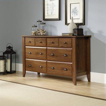 Sauder Shoal Creek 6 Drawer Dresser in Oiled Oak - image 3 de 3