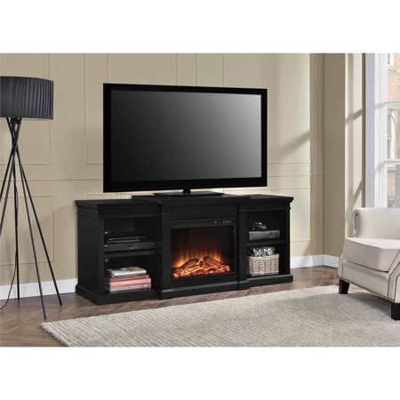 Manchester Fireplace Tv Console For Tvs Up To 70 Black