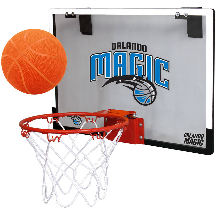 Rawlings NBA Game On Polycarb Hoop Set Orlando Magic