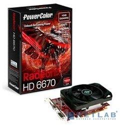 POWERCOLOR AX6670 1GBD5 H PowerColor ATI HD6670 GDDR5 1024MB PCI-E [AX6670 1GBD5-H] RTL (1194760 by PowerColor