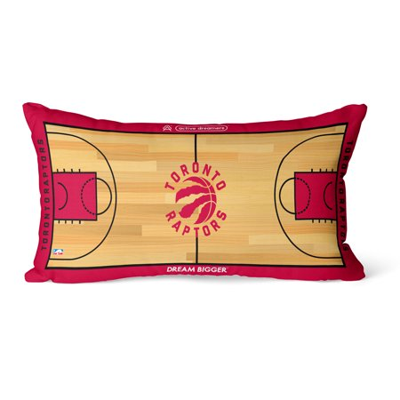Toronto Raptors 30'' x 15'' Lumbar Pillow - 30