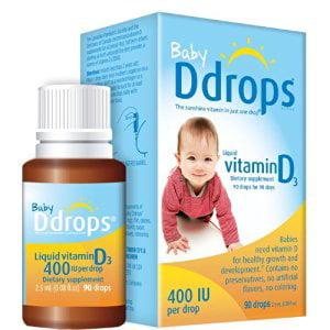 Baby Ddrops 400 Iu 360 Drops Walmart Com